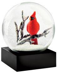 Cardinal Snow Globe