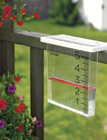 Waterfall Rain Gauge