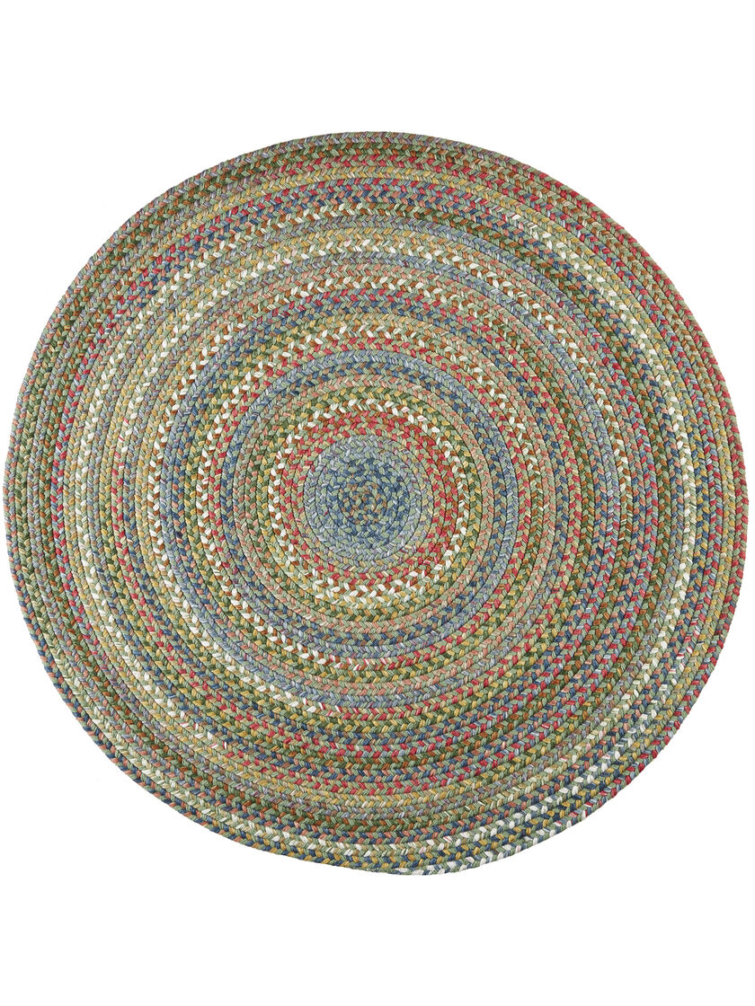 Round braided rugs round country jewel braided rug 6 39 for Where to buy round rugs