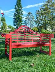Lutyens Aluminum Garden Bench 5'