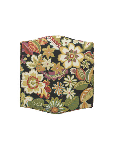 Summer Cottage Ottoman Cushion