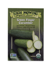 Green Finger Cucumber Organic Seeds