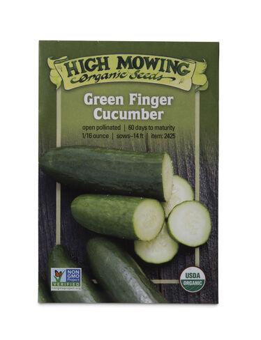Green Finger Cucumber Organic Seeds