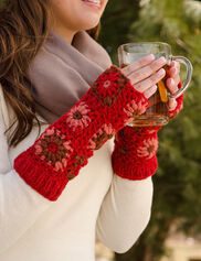 Crocheted Hand Warmers