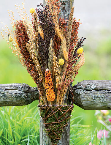 Bird Seed Bouquet