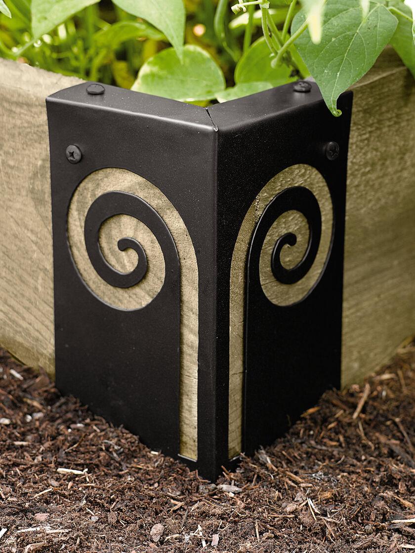 Decorative Raised Bed Corner Brackets Gardener 39 S Supply