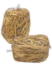 Mini Barley Bales, Set of 2