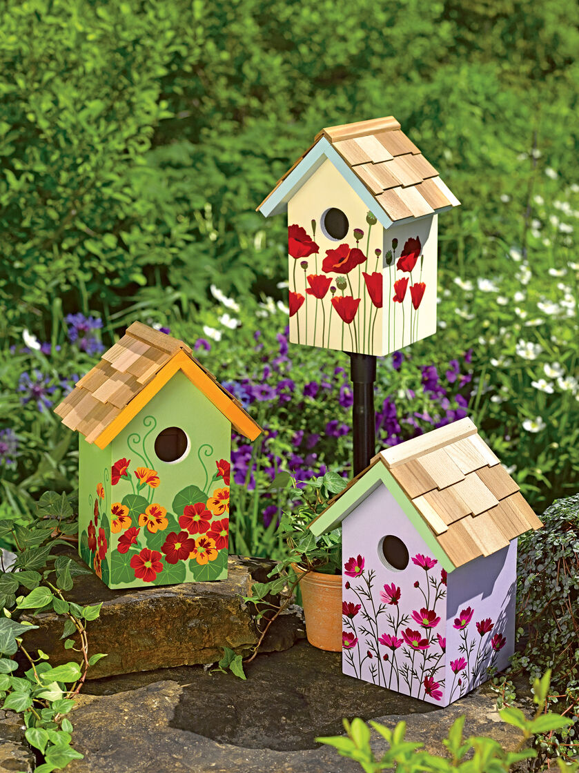 8589363_2219_floral-bird-house-set Painted Bird Houses Designs Ideas on home office design ideas, painted bird house craft, painted wood bird house, painted bird house with cat, computer nerd gift ideas, painted wood craft ideas, painted dresser ideas, pet cool house ideas, painted furniture, painted red and white bird, painted owl bird house, jewelry designs ideas, painted bird house roof, painted decorative bird houses designs, painted gingerbread house craft,