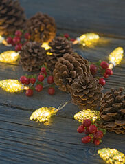 Mini Pinecone LED String Lights