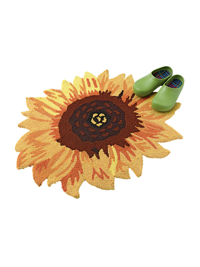 Sunflower Accent Rug Non Slip Backing 32 Quot X26