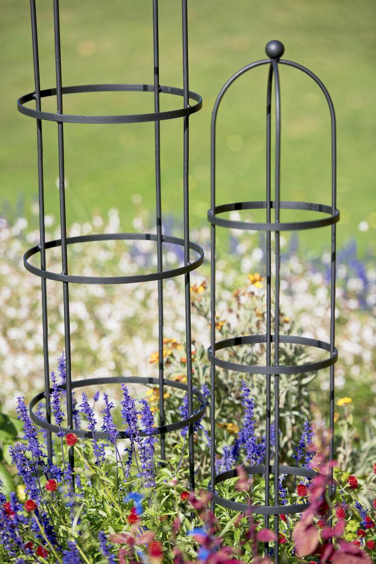 Garden Obelisk Essex Round Trellis Free Standing Gardenerscom