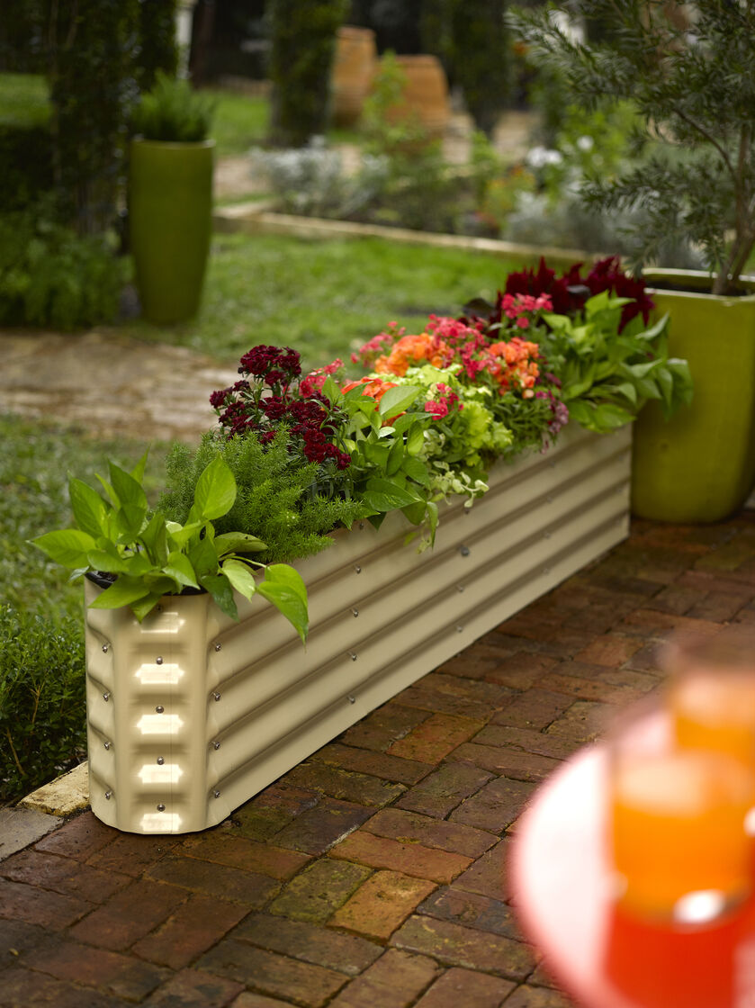 Gardens Raised: Metal Raised Garden Beds: Modular