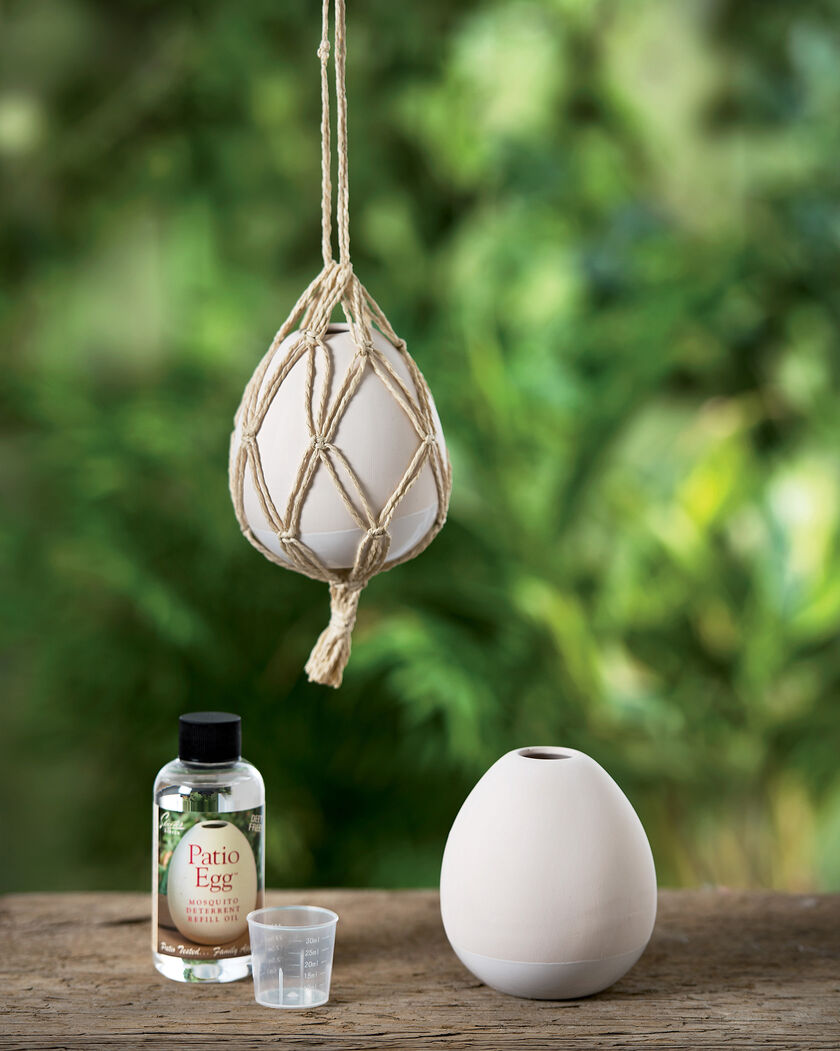 Mosquito Deterrent Diffuser - Natural Mosquito Repellent Essential Oil Diffuser For Yard Or Patio