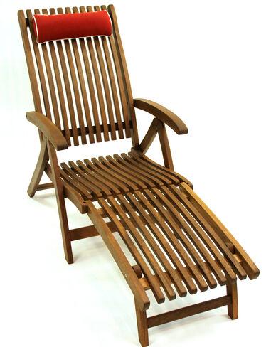 Eucalyptus Chaise Lounge with Detachable Ottoman