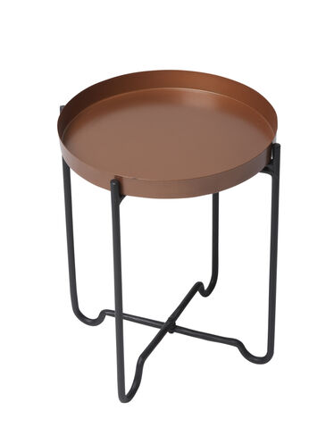 Copper-Finish Plant Stand, 12&#8221 x 16&#8221