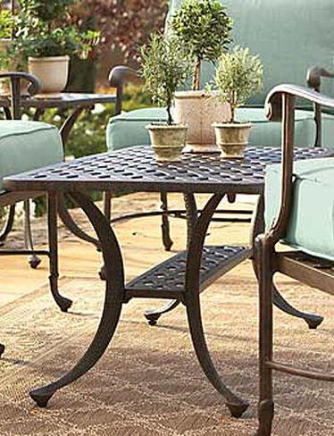 Wellington coffee table for Outdoor furniture wellington