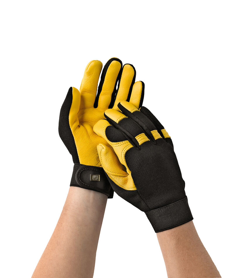 Mens yellow gloves - Gold Leaf Soft Touch 8482 Gloves
