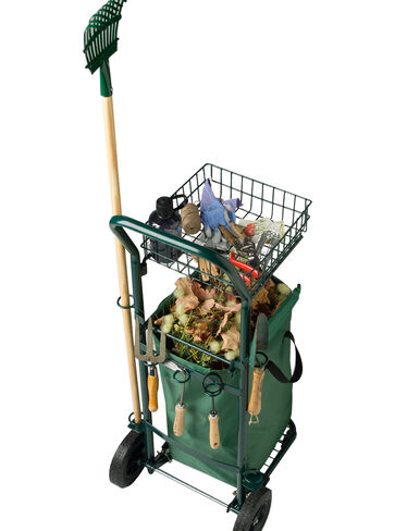 Garden Clean-Up Cart
