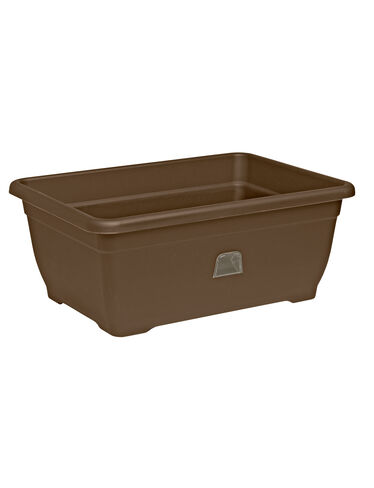 Self-Watering Patio Planter, Bronze