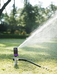 4-Pattern Cylinder Sprinkler with Spike