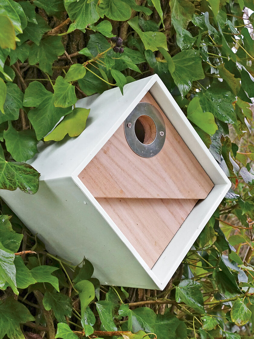 Cool bird houses bird box modern birdhouse for chickadees more - Cool bird house plans image ...