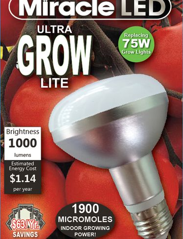 Miracle LED® Ultra Grow Light Bulb