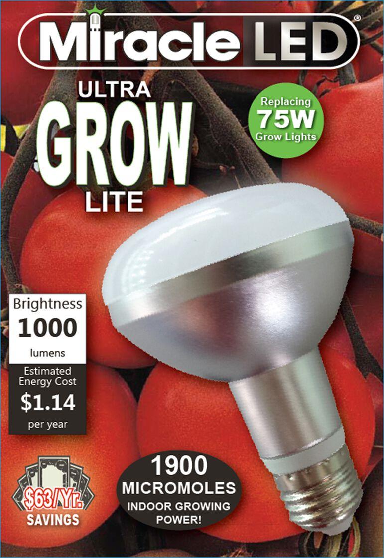 Led Grow Light Bulb Miracle Led Ultra Grow Light Bulb