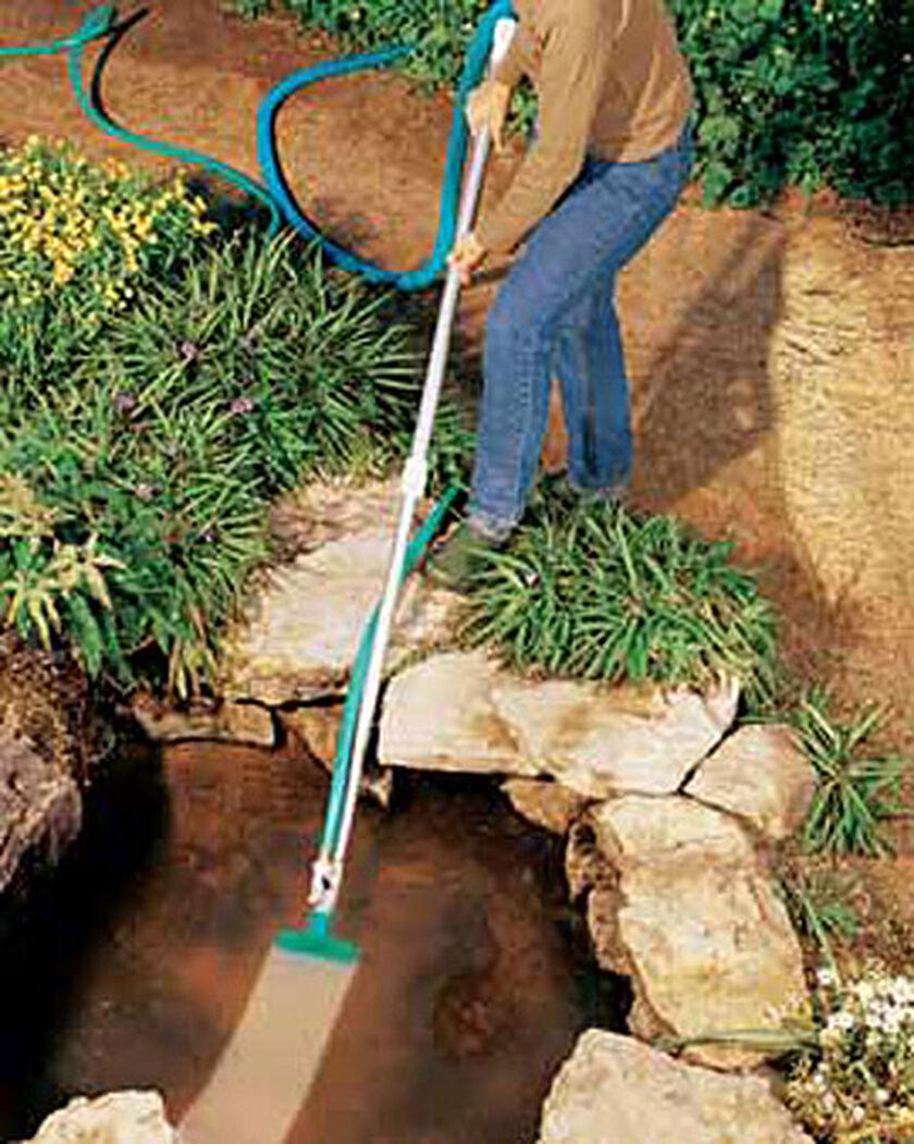 Muck Vac Pond Vacuum Garden Hose Vacuum Gardeners Com