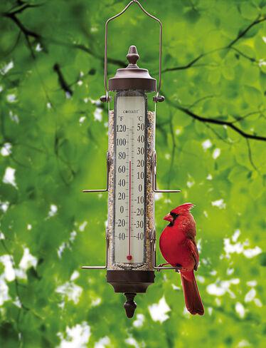 Birdfeeder Thermometer