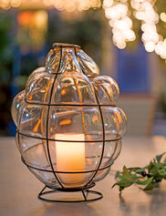 Toulouse Blown Glass Candle Lantern
