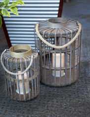 Bali LED Candle Lanterns