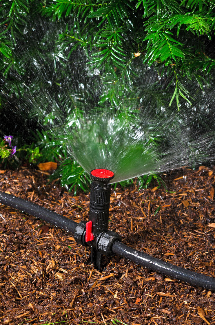 Above Ground Irrigation Systems For Landscaping