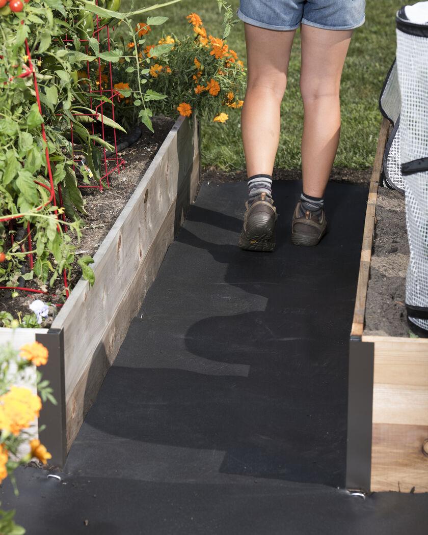Rubber Weed Barrier Weed Block Weed Mat Gardeners Com
