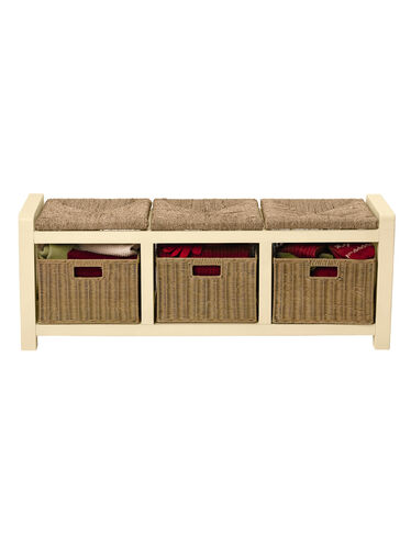 3-Seat Mud Room Bench