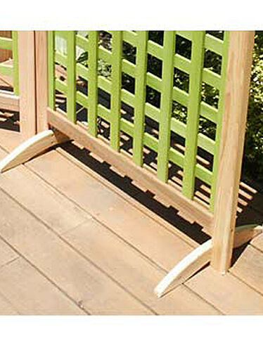 Feet for the Andover Screen, Set of 2