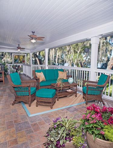 Legacy Outdoor Wicker Suite