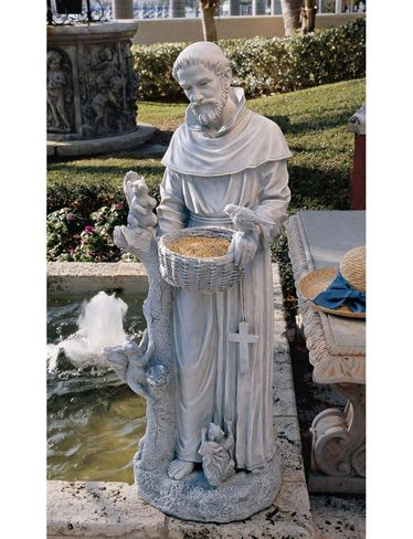 St Francis Statue Large 37 Quot H Gardener S Supply