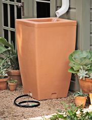 Santa Fe Rain Barrel