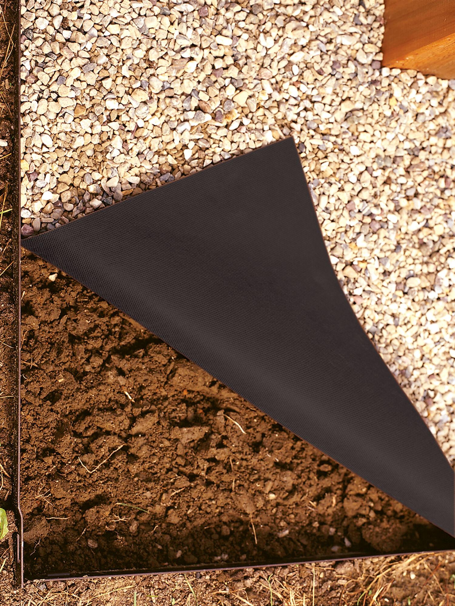 Easyflex No Dig Garden Edging 50 Metal Landscaping Edging
