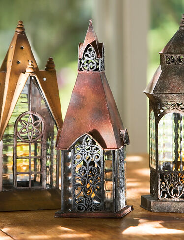 Woodhaven Glass Houses, Set of 3