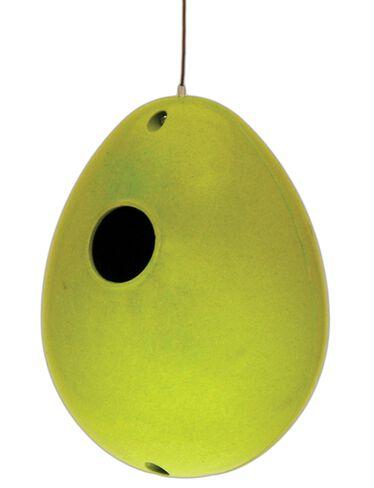 Bamboo Egg Birdhouse