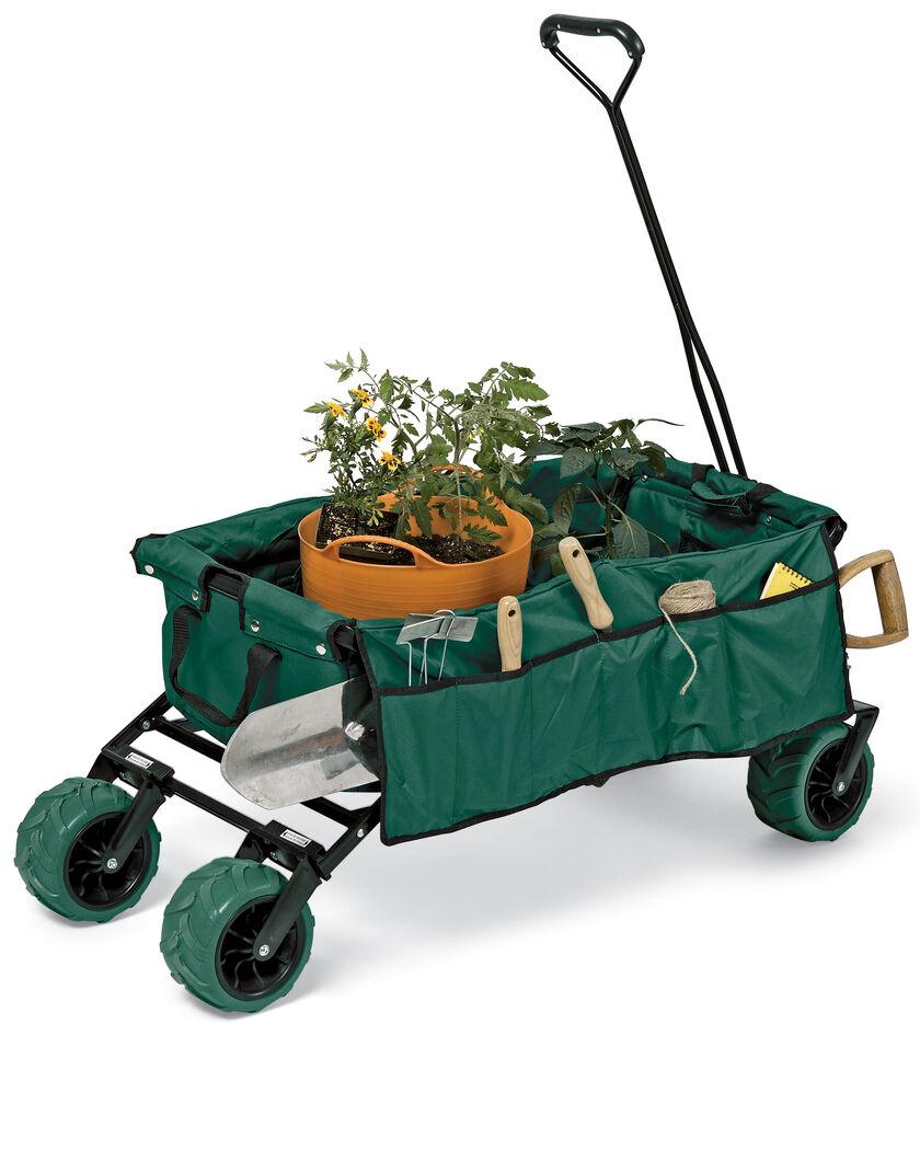 Folding All Terrain Wagon For Beach Or Garden Heavy Duty