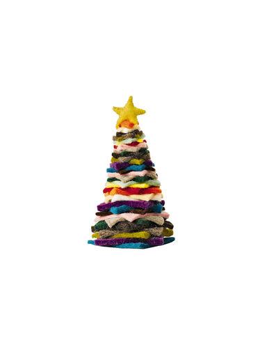 "8"" Felted Wool Christmas Tree"