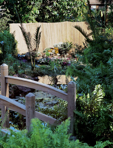 Split-Bamboo Fencing