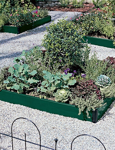 Four-Square Raised Bed