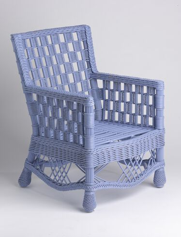 Summer Cottage Wicker Chair