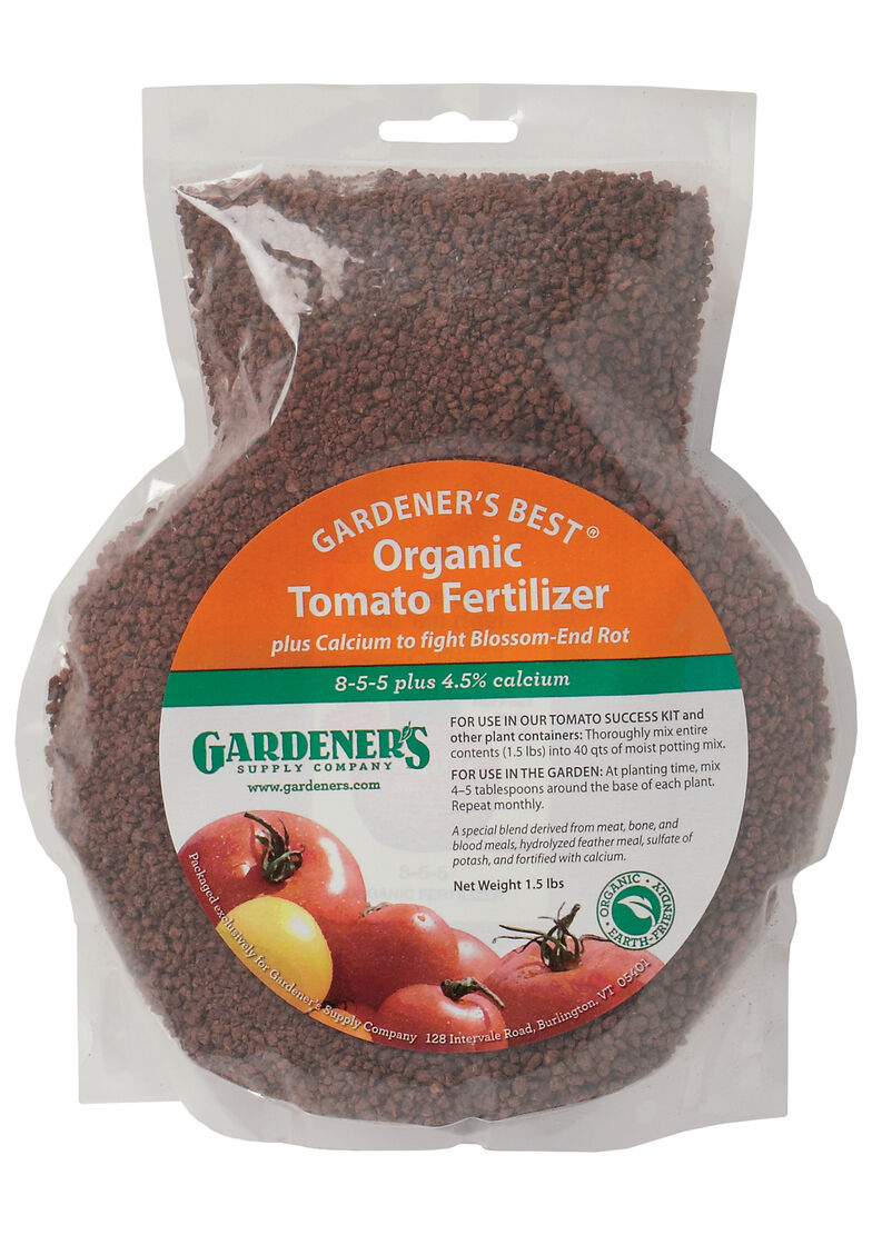 Gardeners Best Organic Tomato Fertilizer Gardeners Supply