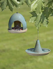 Fly-Through Bird Feeder & Waterer Set