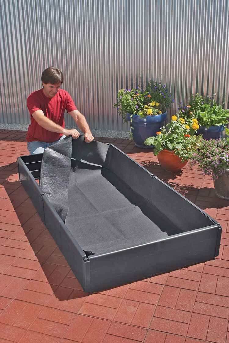 Grow Bed Liners Small Buy from Gardeners Supply