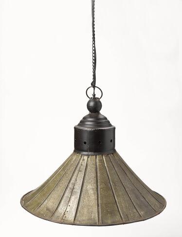 Flared Metal Pendant Light